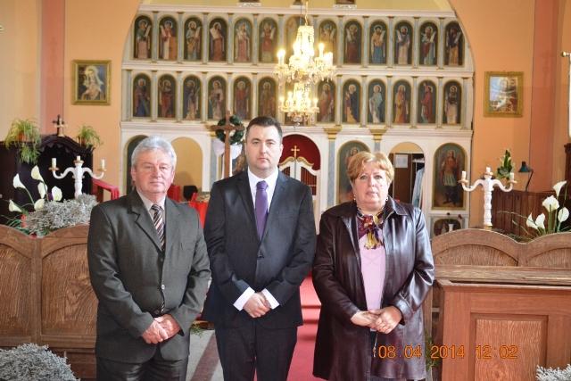 Consulul general Florin Vasiloni în vizita la Bedeu si Pocei,