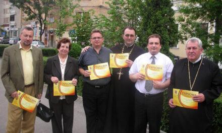 Diplome de excelenta în cultura pentru reprezentantii Episcopiei Greco-Catolice de Oradea,