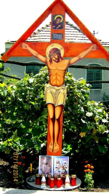 Troita si placa comemorativa în cinstea Episcopului martirizat Vasile Aftenie,