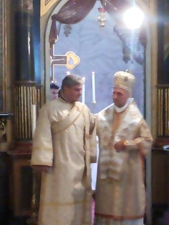 Hirotonire de diacon în Catedrala Sf. Nicolae din Oradea,