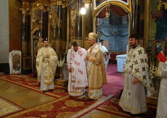 Hirotonire de preot în Catedrala Sf. Nicolae din Oradea,