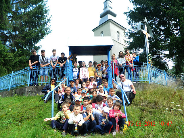 """Grupul """"Dominic Savio"""" în tabara la Lunca Visagului – 4-9 august 2014,"""