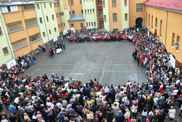 Deschiderea anului scolar 2014-2015 la Liceul Greco-Catolic Iuliu Maniu,