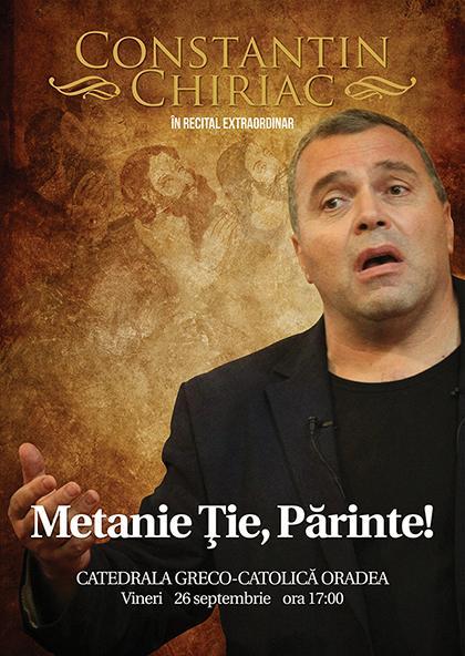 Invitatie – Recital de poezie religioasa la Catedrala Sfântul Nicolae,