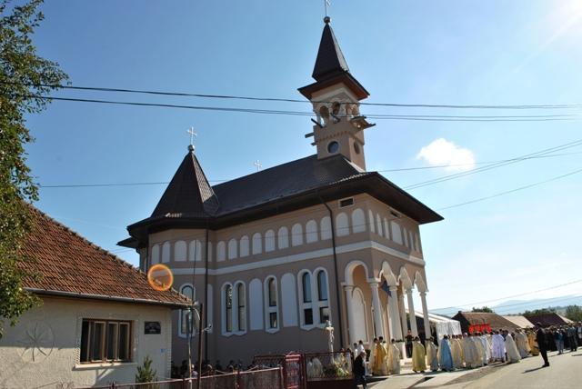 Sfintirea Bisericii din Horoatu Crasnei,