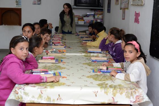 Re-deschiderea activitatii în centrul de zi pentru copii din Ioanis,