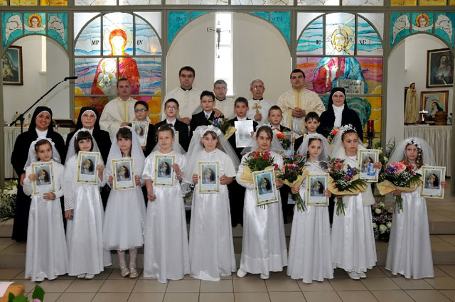 Prima Sfânta Împartasanie solemna la Zalau,