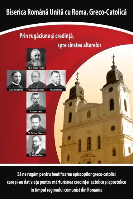 Colecta nationala de sustinere a cauzei de beatificare a Episcopilor nostri martiri,