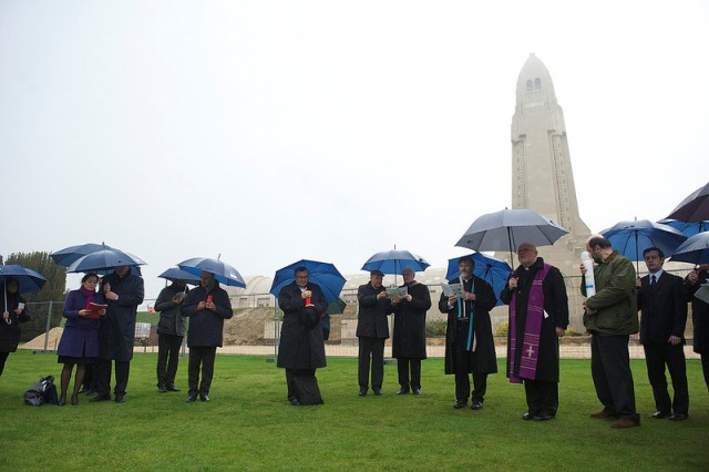 Mesajul  episcopilor europeni  reuniti la Verdun pentru a comemora Primul Razboi Mondial,