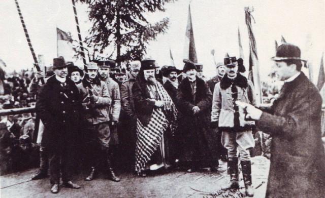 Aportul comunitatii greco-catolice din Statele Unite la faurirea României Mari,