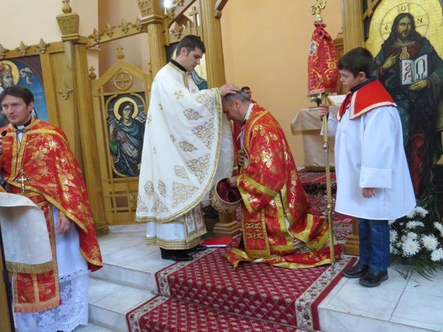 Hirotonire de preot în Biserica Greco-Catolica din Tasnad,