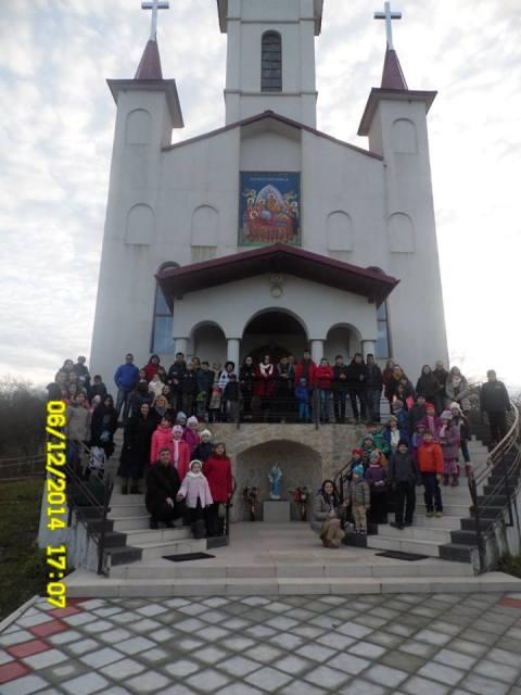 Sfântul Nicolae sarbatorit de tinerii si copiii din Protopopiatul Zalau la Chilioara,