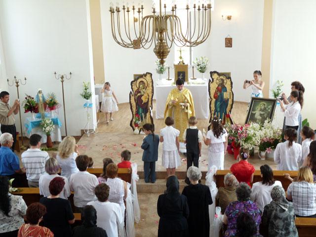 Cu Sfântul Anton spre Domnul Isus – Prima Cuminecare la Valea lui Mihai,