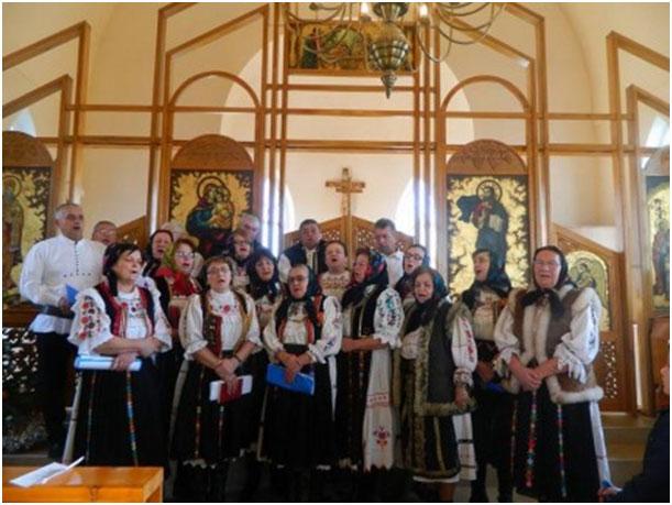 Concert de colinde la Biserica Greco-Catolica din Badacin,