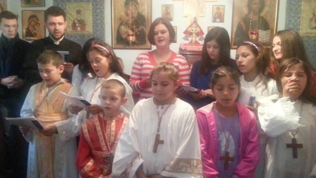 """""""Copiii au strigat în cor: ,,Christos se naste, mariti-L''!"""","""