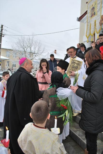 Vizita pastorala a Preasfintiei Sale Dr. Virgil Bercea în parohia Plopis – Salaj,