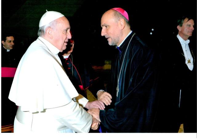 Comunicat: Preasfintia Sa Virgil Bercea s-a întâlnit cu Papa Francisc,