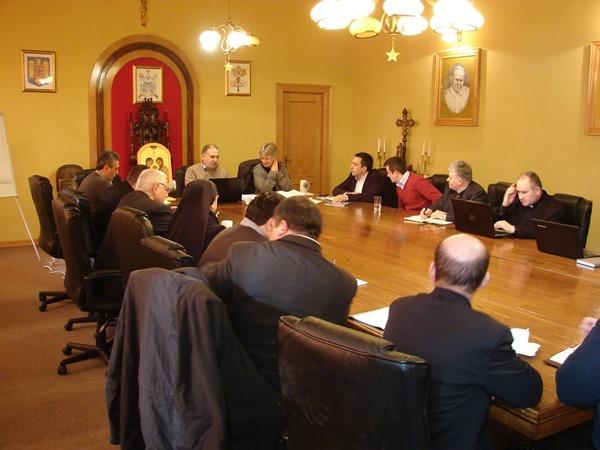Întâlnire de evaluare a planurilor integrate de dezvoltare eparhiale,