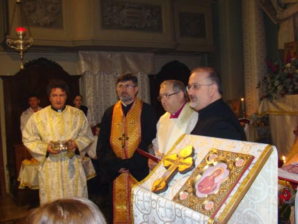 "Pr. protopop Marinel Muresan numit paroh al parohiei personale ""Sf?nta Cruce a Rom?nilor"" din Arhidieceza de Bologna,"