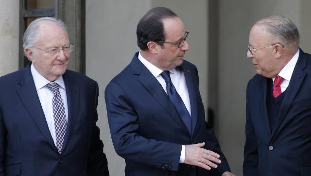 Pace între evrei si musulmani în Franta,