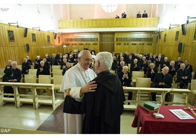 Cuvintele Papei Francisc la încheierea Exercitiilor Spirituale,