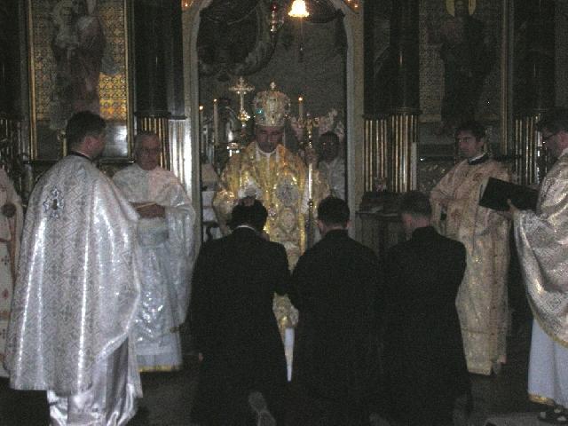 Hirotonire de diaconi în Catedrala Sfântul Nicolae din Oradea,