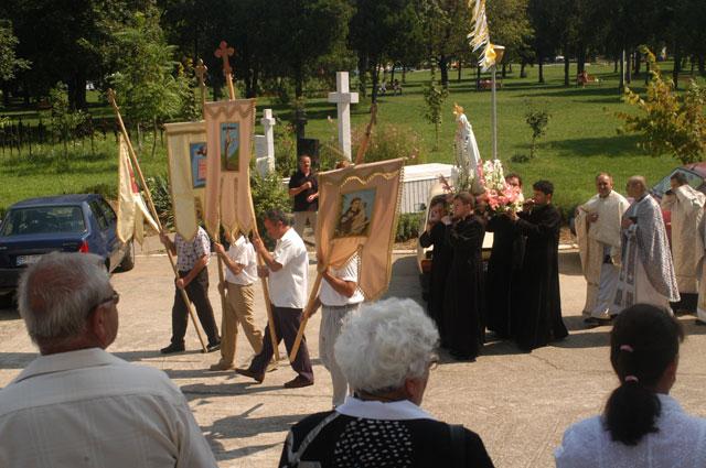 Sarbatoarea Adormirii Maicii Domnului la Oradea,