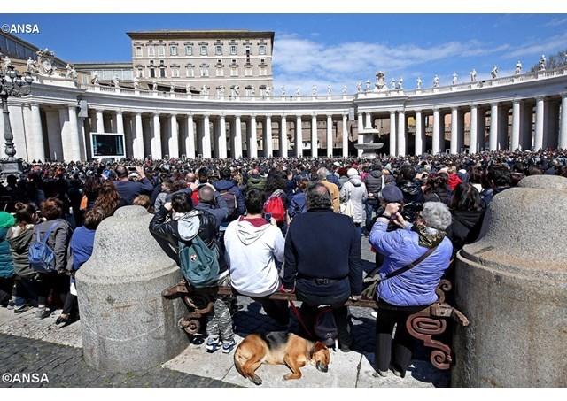 """Papa Francisc saluta credinciosii bizantini: """"Cristos a înviat!"""","""