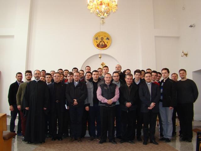 Schimb de experienta între Seminarele greco-catolice din Cluj Napoca si Oradea,