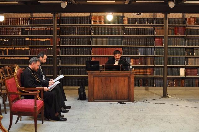 Doctorat în Teologie Patristica la Institutul Pontifical Oriental,