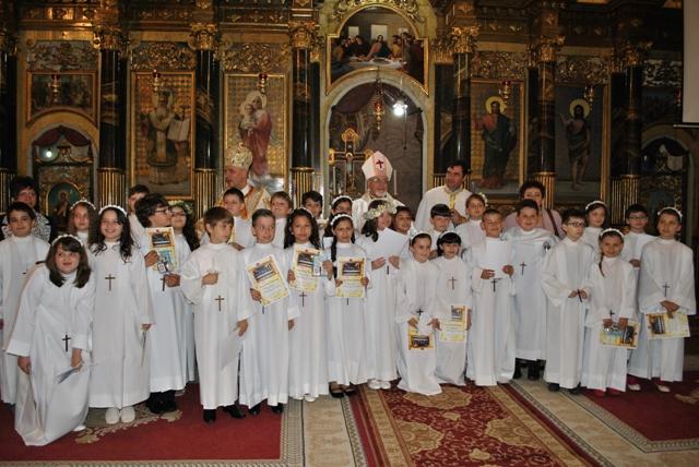 Prima Sfânta Spovada si Împartasanie solemna la Catedrala Sfântul Nicolae,