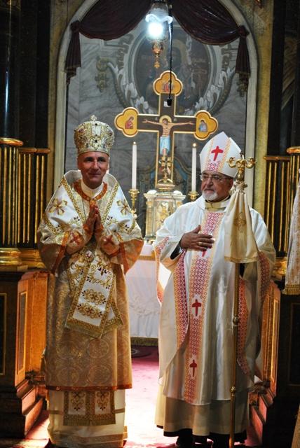 Vizita Înalt Preasfintitului Yannis Spietris în Episcopia de Oradea,
