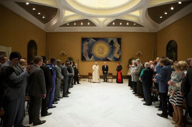 Papa Francisc a cerut iertare pentru persecutiile îndurate de catre Penticostali,