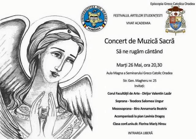 Concert de muzica sacra,