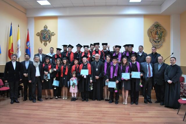 Ultimul sunet la Facultatea de Teologie Greco Catolica din Oradea,