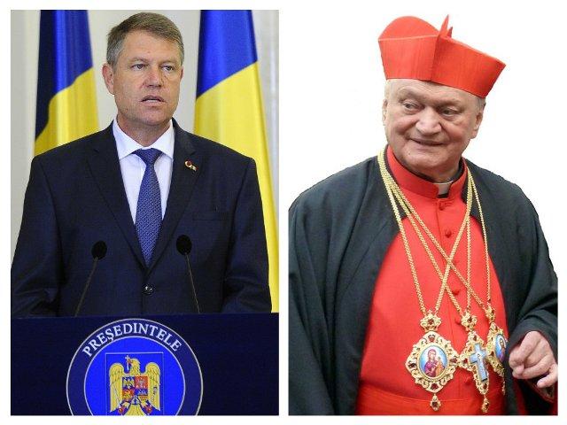"""""""Presedintele României, domnul Klaus Iohannis îl decoreaza pe Preafericitul Lucian"""","""