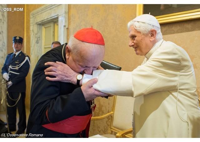 Benedict al XVI-lea Doctor honoris causa al Universitatii Pontificale Ioan Paul al II-lea,