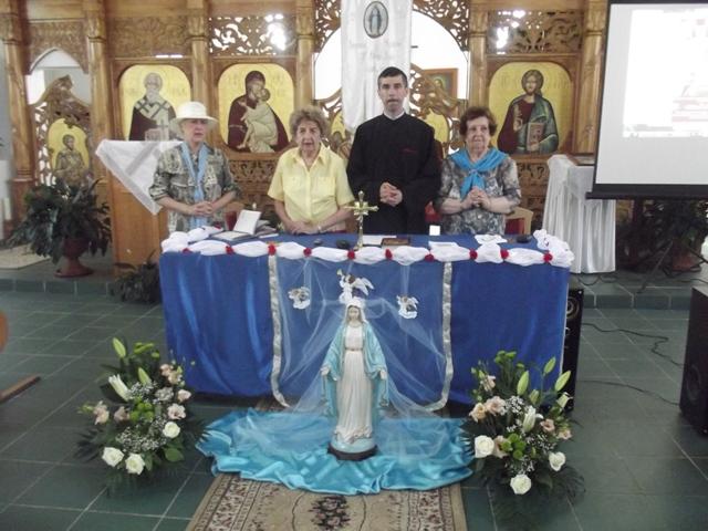 Întâlnire si întrunire marianista în Beius,