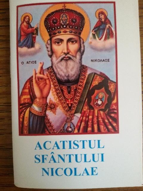 Acatistul Sfântului Nicolae – Ierarh al Mirei Lichiei!,