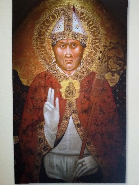 Sfântul Columban sarbatorit la Piacenza,