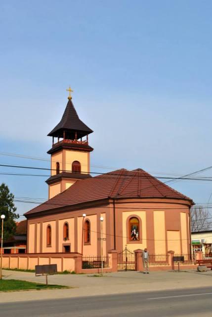 Sfintirea bisericii din Beliu,