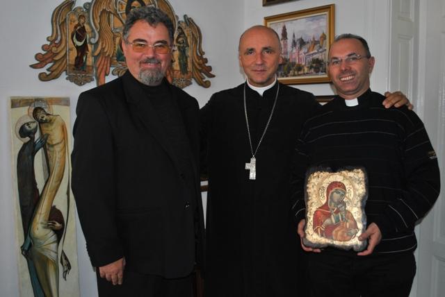 Vizita parintelui Felice Bruno,