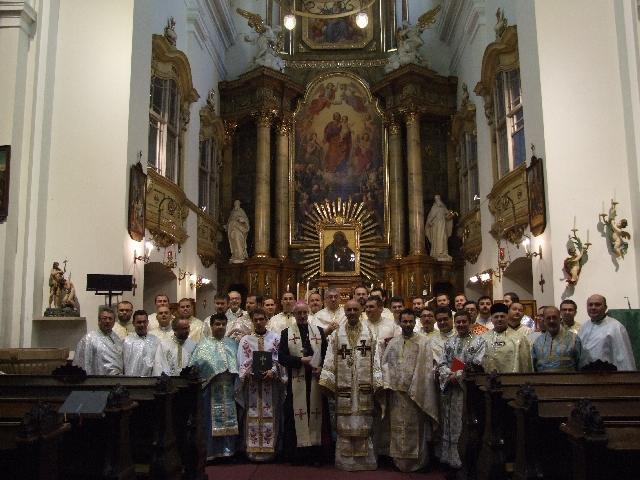 Întâlnirea preotilor greco-catolici români din diaspora europeana,