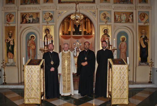 Colegiul Pio Romeno: acordare de cruce pectorala,