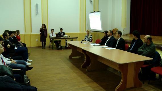 24 de liceeni de la Liceul Greco-Catolic din Oradea vor merge în practica la Roma,
