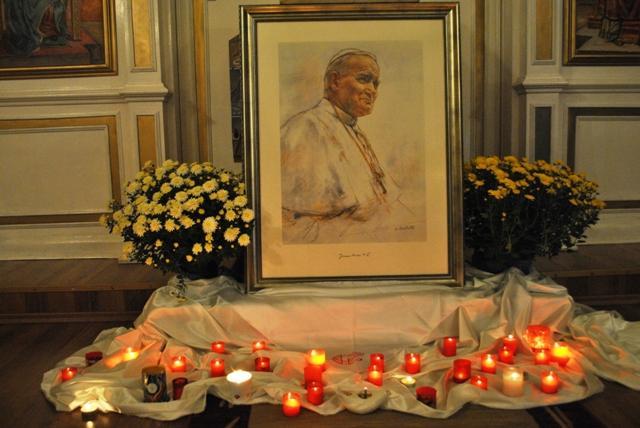 Seara în memoria Sfântului Ioan Paul al II-lea,
