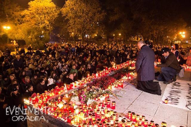 Seara de solidaritate pentru victimele din Bucuresti,