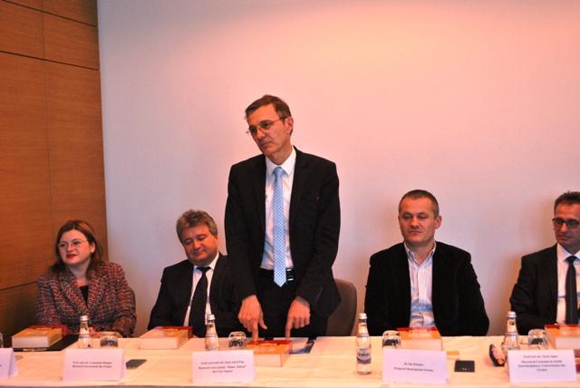 Academicianul Ioan Pop sarbatorit la Oradea,