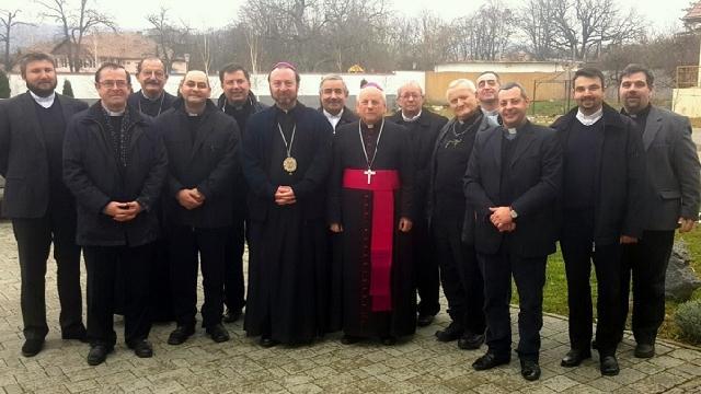 Întâlnirea responsabililor cu probleme ecumenice din eparhiile si diecezele catolice din România,