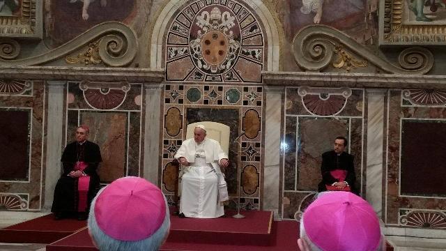 Discursul Papei la întâlnirea organizata de Congregatia pentru Cler,